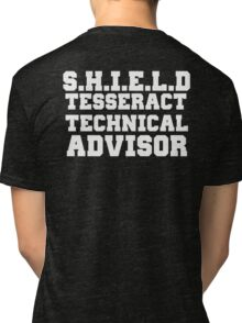 S.H.I.E.L.D Tesseract Technical Advisor Tri-blend T-Shirt