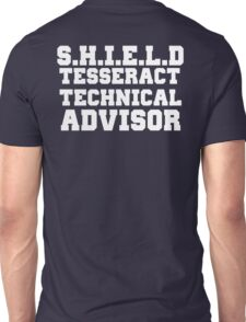 S.H.I.E.L.D Tesseract Technical Advisor Unisex T-Shirt