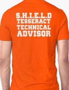 S.H.I.E.L.D Tesseract Technical Advisor Unisex T-Shirt