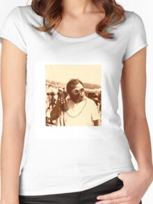 Sergio Leone Women's Fitted Scoop T-Shirt