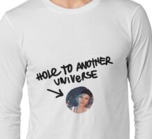 Hole to another universe Long Sleeve T-Shirt