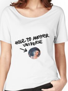 Hole to another universe Women's Relaxed Fit T-Shirt