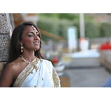 Indian beauty as a bride Photographic Print