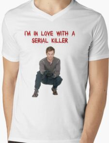 I'm In Love With A Serial Killer Mens V-Neck T-Shirt