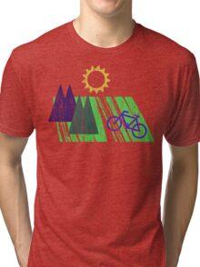 Bike Cycling Bicycle  Tri-blend T-Shirt