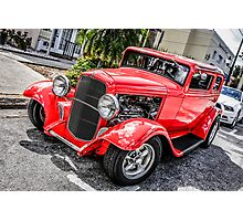 Little red 1936 Ford Coupe Photographic Print