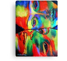 """Cross-circuiting emotions"" Canvas Print"