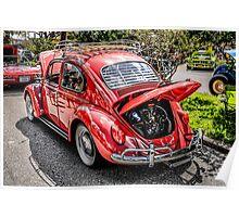 1959 Volkswagen Super Beetle 1300 Poster