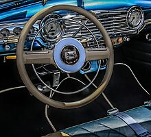 1950s Chevy interior by Chris L Smith