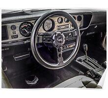 1980 Pontiac Firefird TransAm Interior Poster