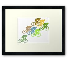 Bike Cycling Bicycle  Framed Print