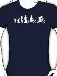 Bike Women's Evolution of Cycling T-Shirt