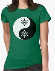Weiss yin and yang the other yang Womens Fitted T-Shirt