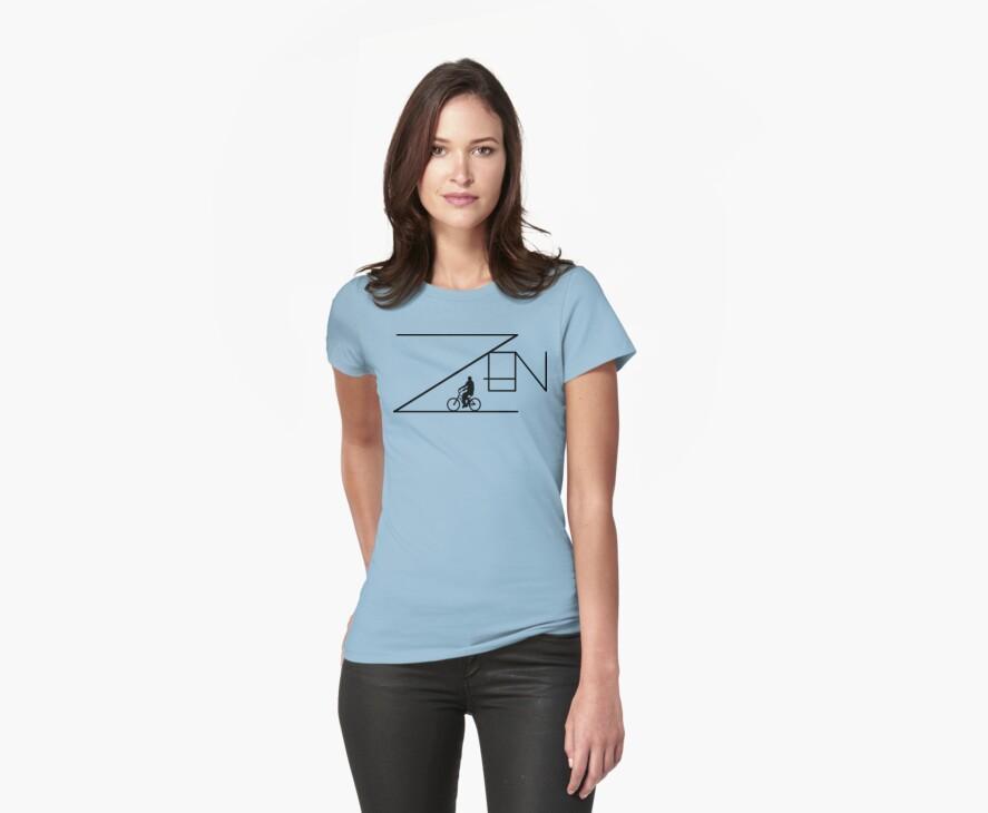 Bike Cycling Bicycle ZEN by SportsT-Shirts