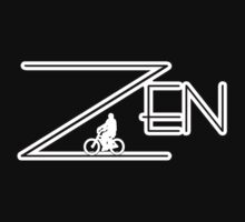 Bike Cycling Bicycle ZEN by SportsT-Shirts