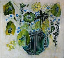 Green Bouquet by Sandrine Pelissier
