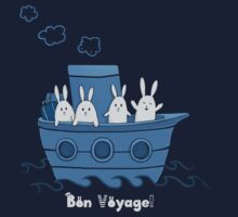 Bon Voyage! One Piece - Short Sleeve