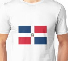 Dominican Republic Flag Unisex T-Shirt
