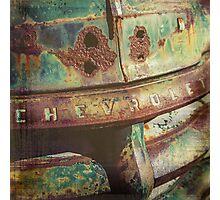 Chevy Patina Photographic Print