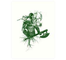 Garruk Wildspeaker Art Print