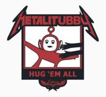 Melalitubby: Hug Em' All Baby Tee