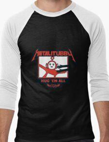 Melalitubby: Hug Em' All Men's Baseball ¾ T-Shirt