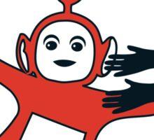 Melalitubby: Hug Em' All Sticker