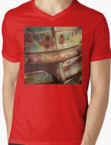 Chevy Patina Mens V-Neck T-Shirt