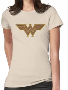 Western Woman Super Hero Womens Fitted T-Shirt