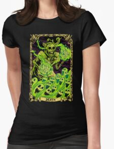 Death Womens Fitted T-Shirt
