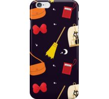 A Young Witch and Her Broom iPhone Case/Skin
