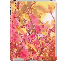 Cherry Blossom Canopy Watercolor iPad Case/Skin