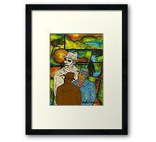 The Musician: Mind-Body-SOUL Framed Print