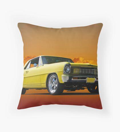 1966 Chevrolet Nova I Throw Pillow