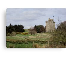 Medieval attraction in East Kilbride Canvas Print