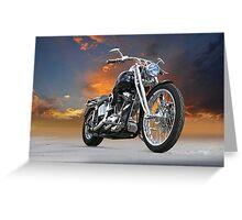 Harley-Davidson Softail Custom Greeting Card