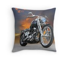 Harley-Davidson Softail Custom Throw Pillow