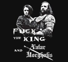 Arya and Hound ( Valar Morghulis )  by lab80