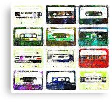 Cassettes #3 Canvas Print