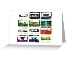 Cassettes #3 Greeting Card