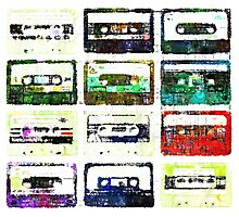 Cassettes #3 Photographic Print