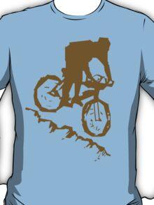 Bike Cycling Bicycle Abstract T-Shirt