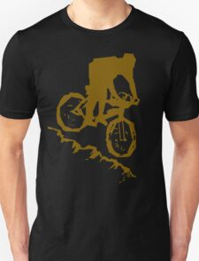 Bike Cycling Bicycle Abstract Unisex T-Shirt