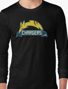 San Diego Chargers Pokemon Mashup Long Sleeve T-Shirt