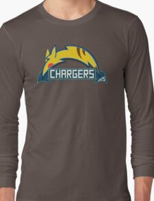San Diego Chargers Pokemon Mashup Long Sleeve T-Shirt