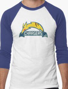 San Diego Chargers Pokemon Mashup Men's Baseball ¾ T-Shirt