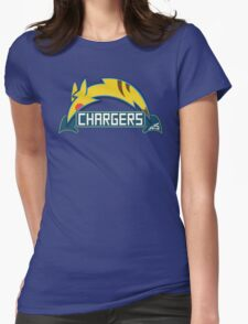 San Diego Chargers Pokemon Mashup Womens Fitted T-Shirt
