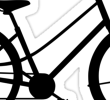 Love My Bike Cycling Bicycle Sticker