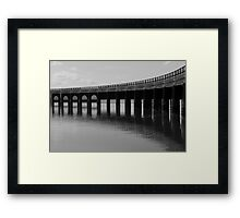 Iron Curve Framed Print