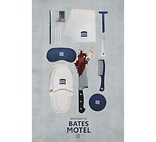 Bates Motel Art Poster Photographic Print